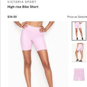 VICTORIA SPORT- High-rise Bike Short